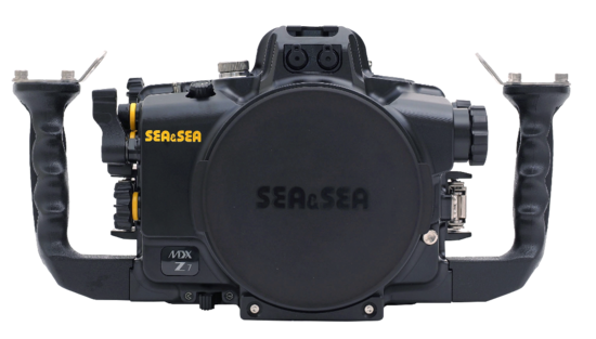 Sea & Sea behuizing MDX-Z7 front vor Nikon Z7 en Z6