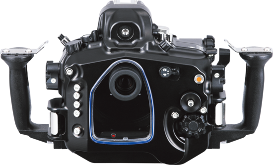 Sea&Sea housing for Canon EOS 7D Mark II MDX-7D Mark II back