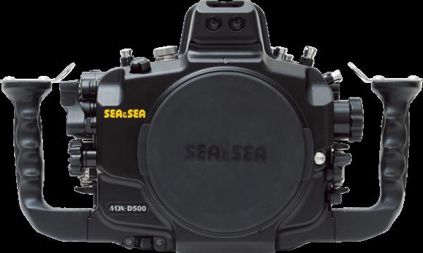 Sea&Sea housing for Nikon D500 MDX-D500 back