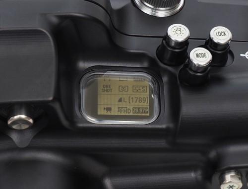 Sea&Sea housing for Canon EOS R MDX-R CONTROL PANEL